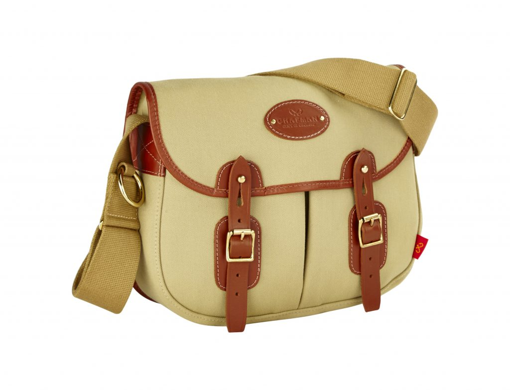 Outdoor Leisure & Country Accessories: The Troutbeck bag by Chapman Bags, webbing strap by Bowmer Bond