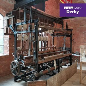 , Decommissioned Bowmer Bond Loom exhibited at the Museum of Making